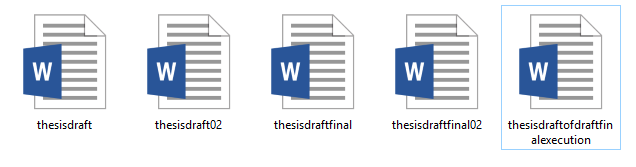 thesis yeah