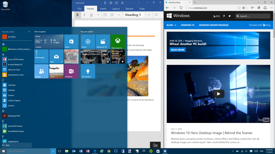 steps to install windows 10 operating system