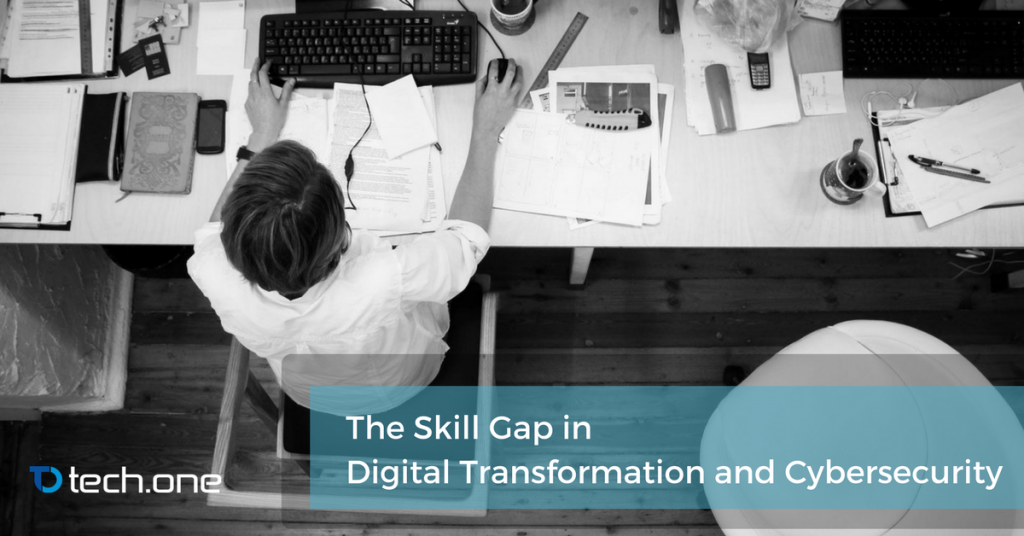 cybersecurity skill gap digital transformation microsoft