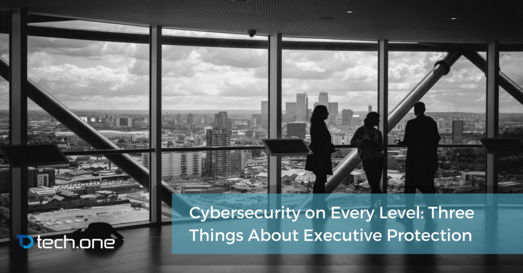 cybersecurity three things executive