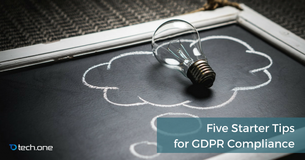 gdpr compliance starter tips tech one global jordan cueto