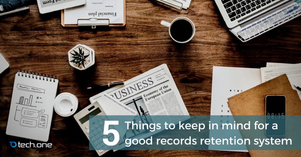 records retention system five things guide tutorial